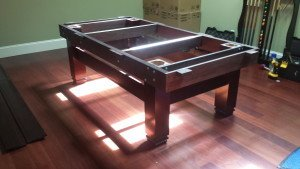 Correctly performing pool table installations, Portland Maine
