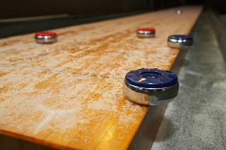 SOLO® Shuffleboard Movers Portland ME, Maine.